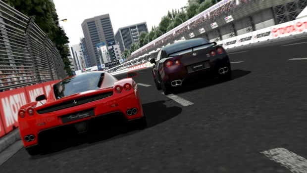 Tesla Model S In Gran Turismo 15th Anniversary Video