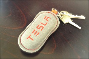 Tesla Model S FobPocket with Keys