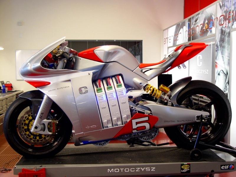 MotoCzysz E1pc Electric SuperBike