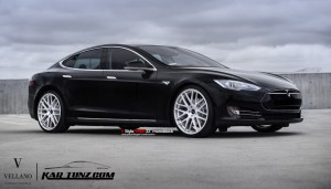 Tesla Model S 22 inch Vellano Wheels