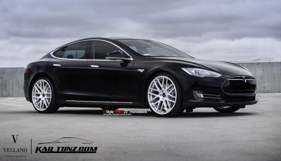 Tesla Model S 22 Inch Vellano Wheels Teslarati Com