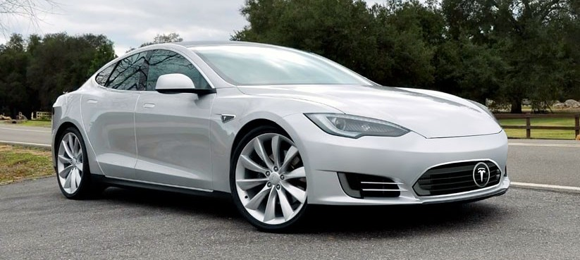 Tesla Model S Nose Cone Replaced