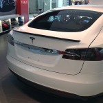 Tesla Model S Carbon Fiber Spoiler (Glossy Version - Old)