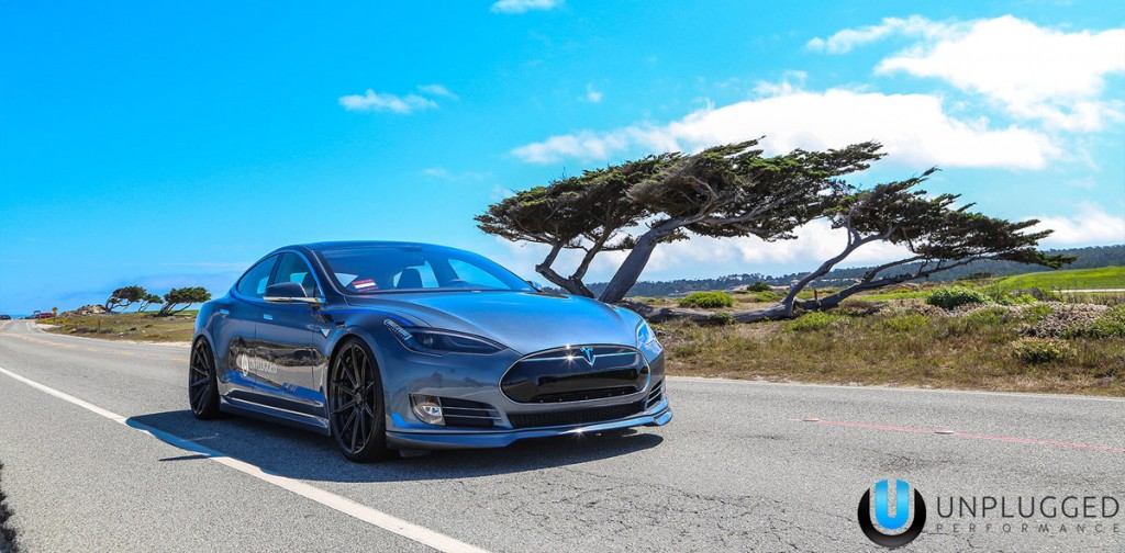 Unplugged Performance Tesla Model S Front 3/4