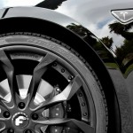 Tesla Model S Forgiato Aftermarket Wheels Front Close Up