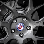 Tesla Model S HRE Aftermarket Wheel Close Up