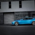 Tesla Model S Vossen Aftermarket Wheels