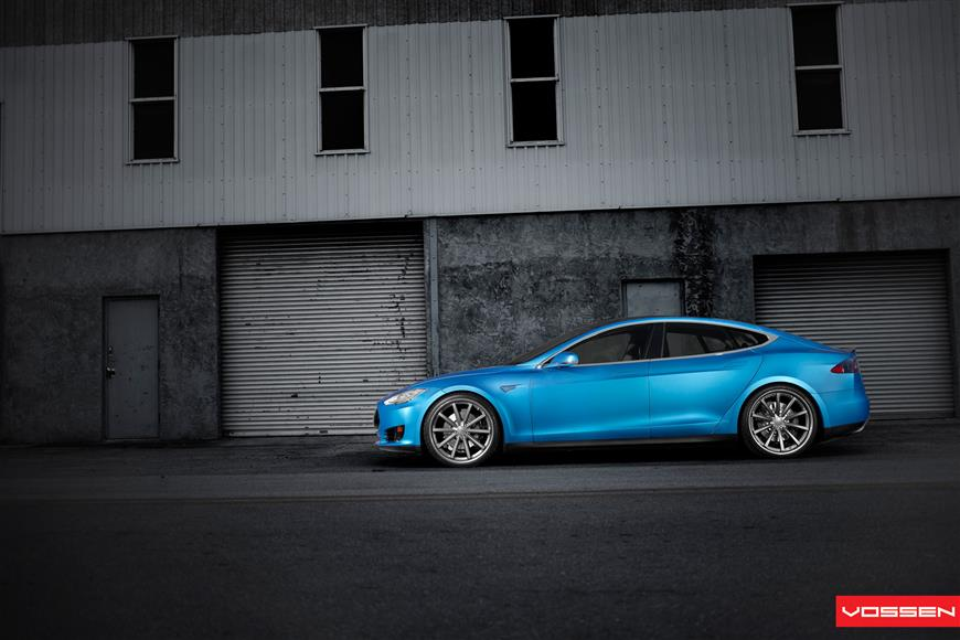 Tesla Model S Vossen Aftermarket Wheels