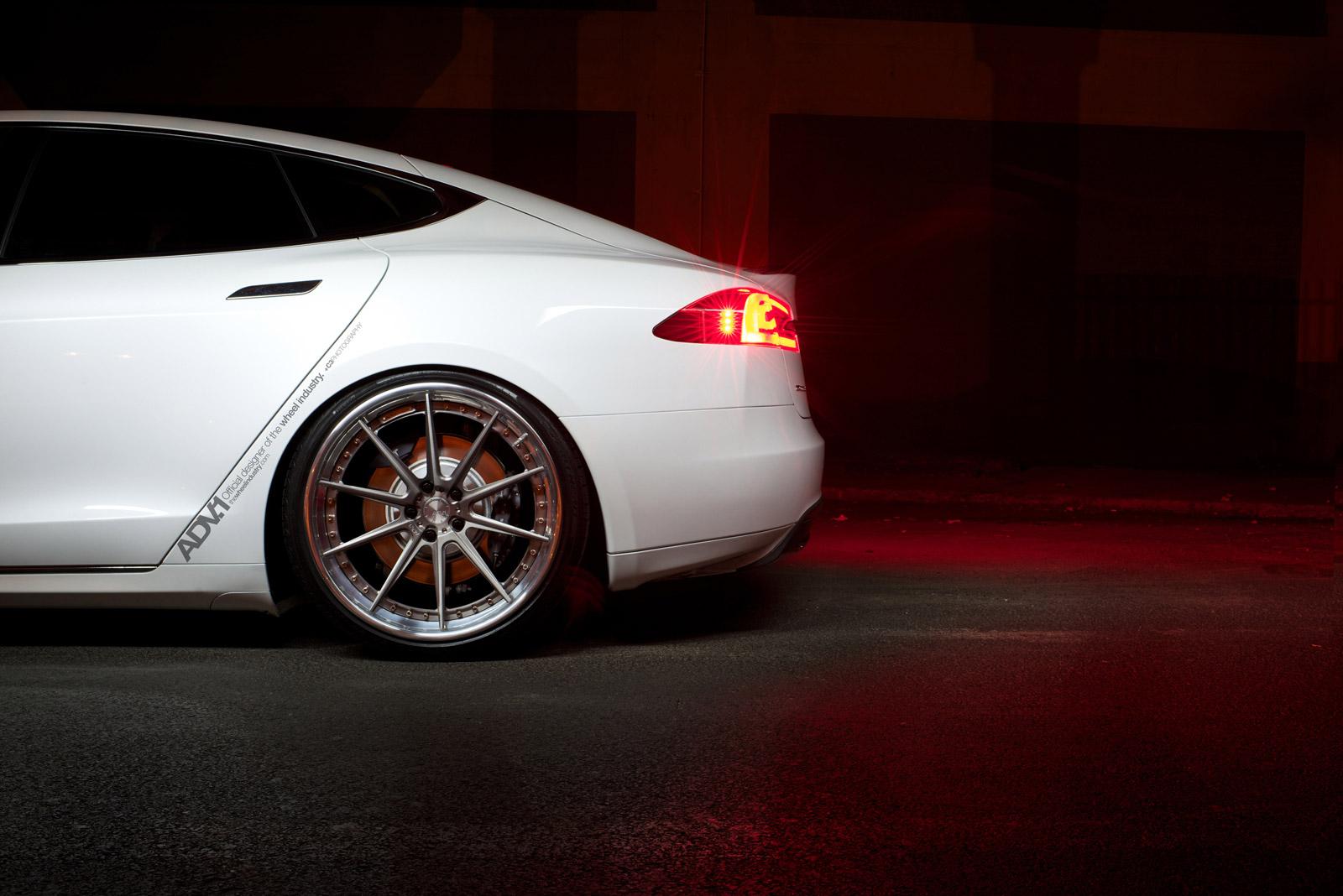 Tesla Model S ADV.1 Rear Aftermarket Wheel