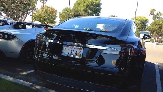 Tesla Model S Vanity Plate