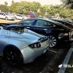 Tesla Roadster Silver