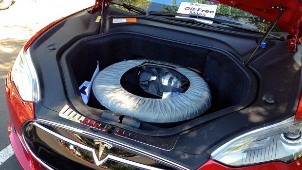 Tesla Model S Spare Tire Frunk