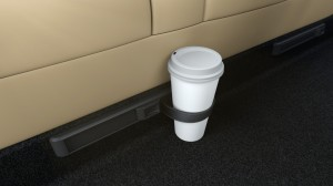 Tesla Motors Model S 2nd Row Cupholders