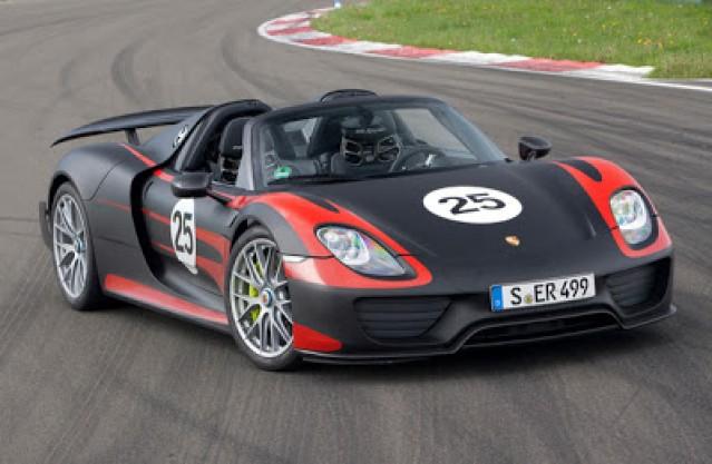 Porsche 918 Spyder Plug-In