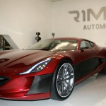 Rimac Concept One Car Show Front