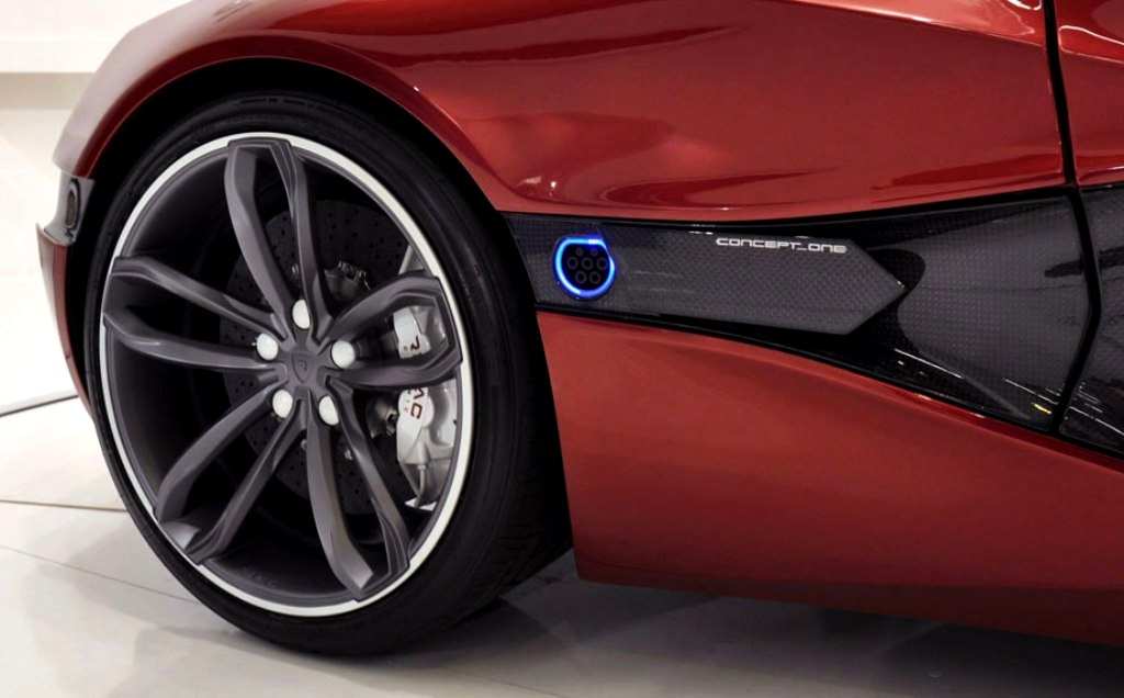 Rimac Concept One Charge Port