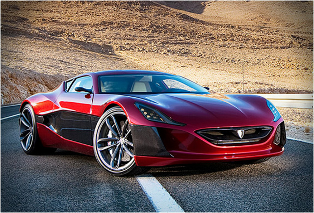 Rimac Concept One Front