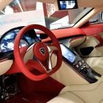 Rimac Concept One Interior Console