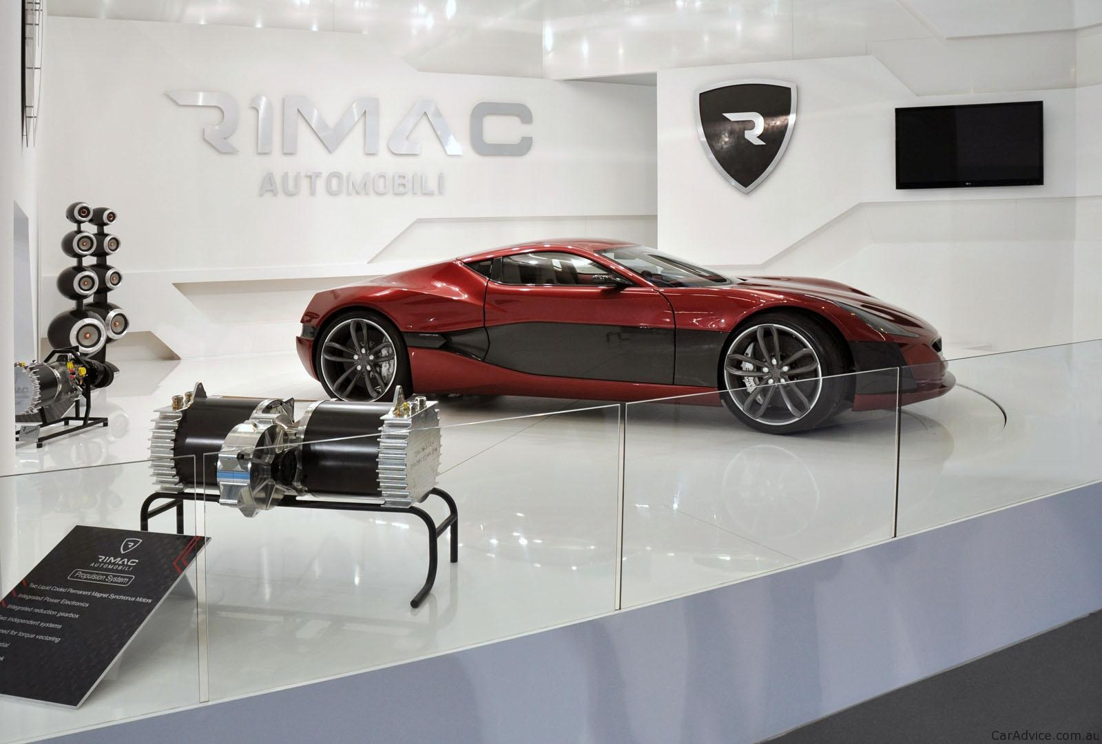 Rimac Concept One Motor