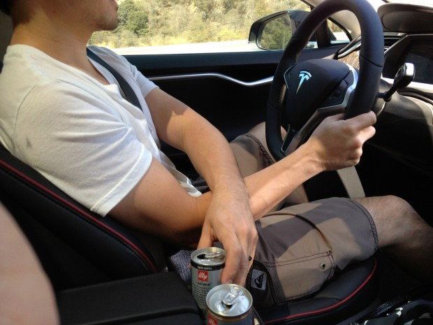 """Crossover"" Technique Without the Model S Center Console Insert"