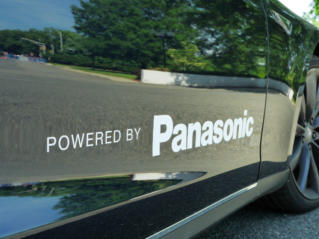 Tesla-Panasonic-Powered