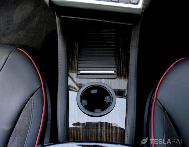 Teslaccessories Model S Center Console Insert (CCI) Secure Compartment