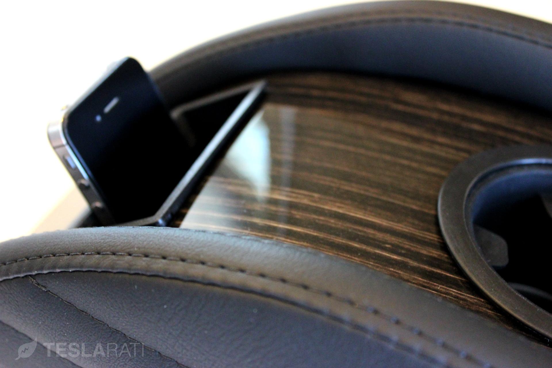 Tesla Model S Center Console Insert (CCI) Phone Caddy