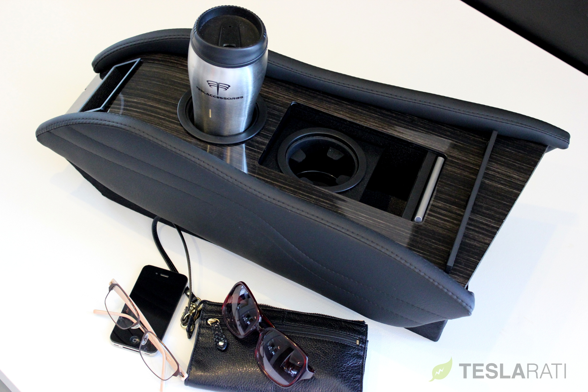 Teslaccessories-CCI-Obeche-Wood-Gloss-X2-Storage