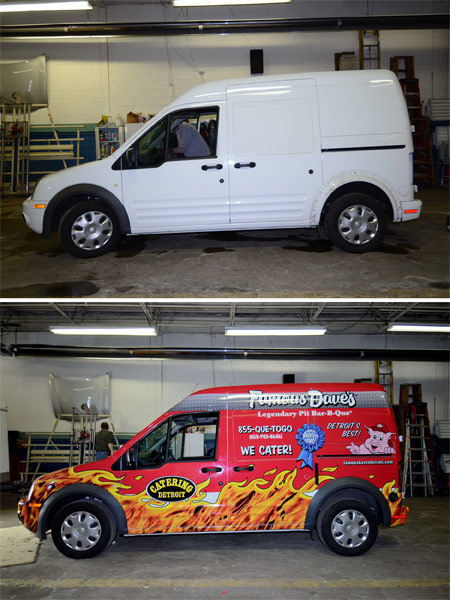 Before After Wrapped