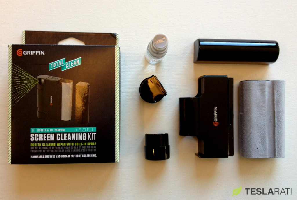 Griffin Model S Screen Cleaning Kit Components