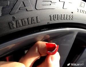 Rimblade Tesla Model S Wheel Protector 3M Adhesive Back