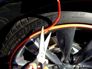 Rimblade Tesla Model S Wheel Protector Installation