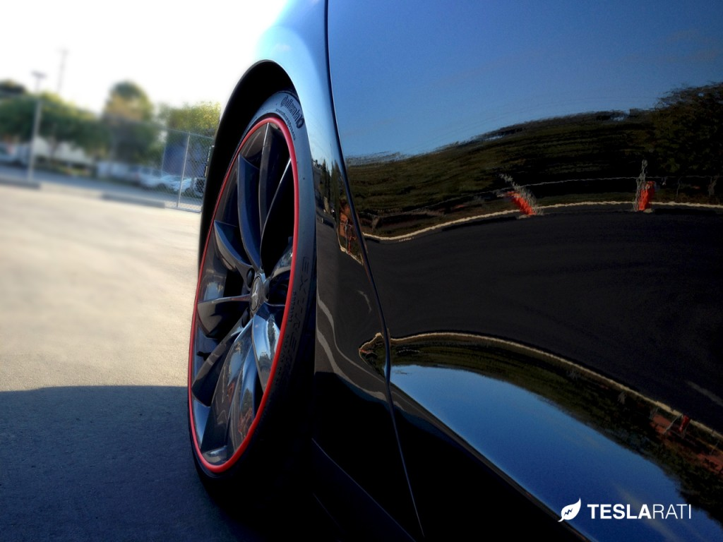 Rimblade Tesla Model S Wheel Protector Rear Wheel