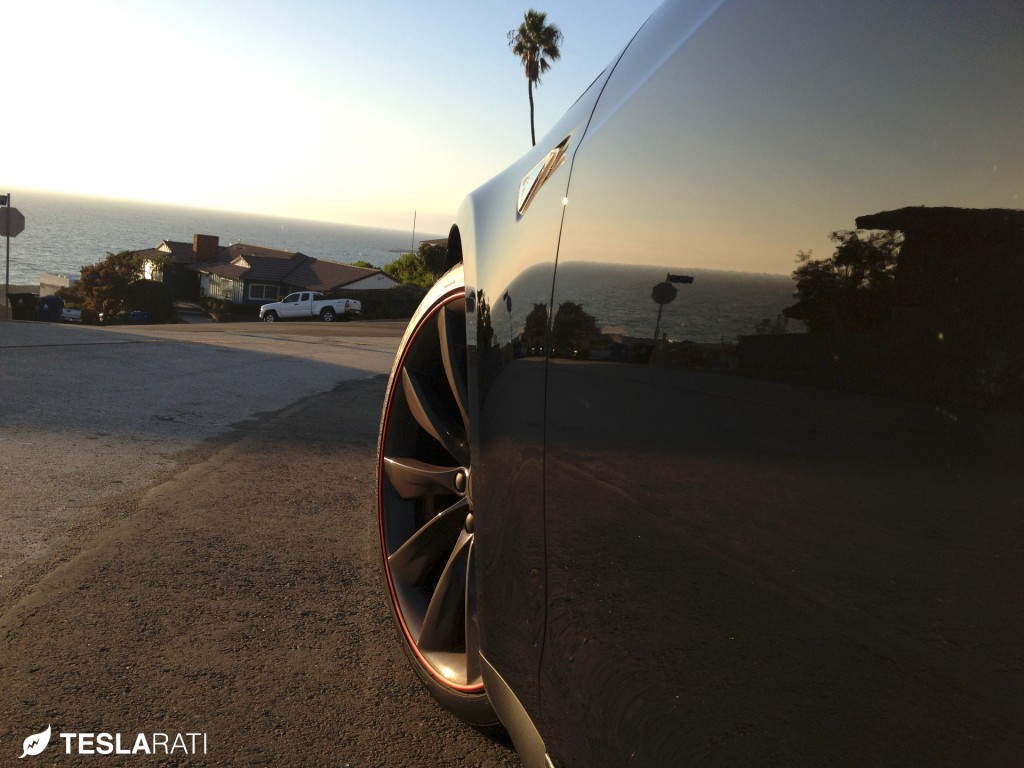 Rimblade Tesla Model S Wheel Protector Front
