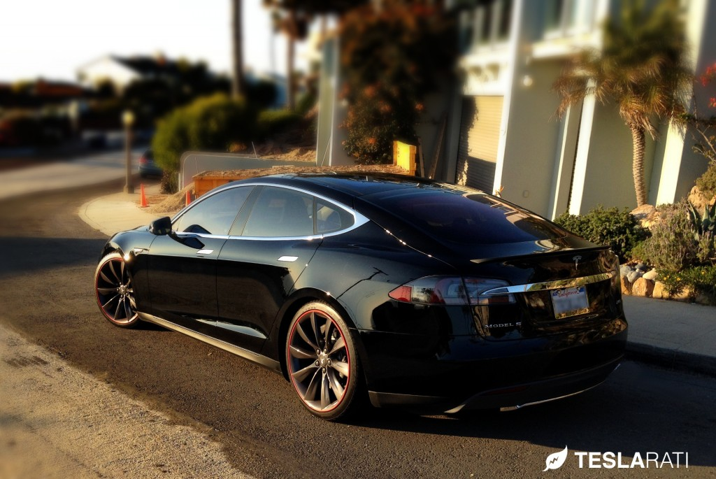 Rimblade Tesla Model S Wheel Protector Side Profile