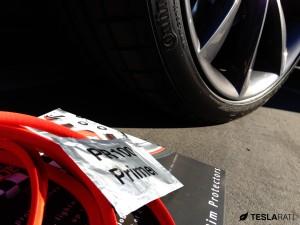 Rimblade Tesla Model S Wheel Protector Installation Primer Wipe