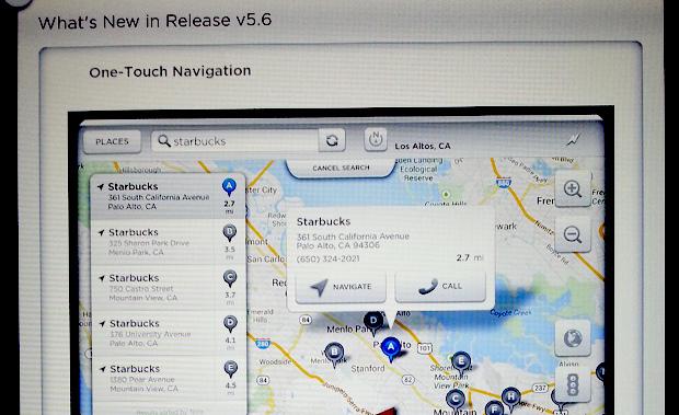 Tesla Model S Firmware 5.6