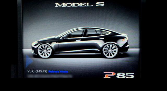 Tesla Model S Firmware 5.6 Update