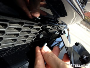 Torklift The Law Removable Tesla Model S Front License Base Plate