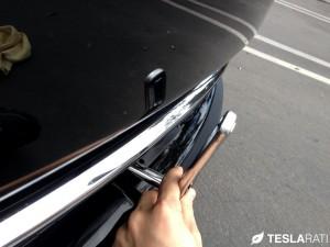 Torklift The Law Removable Tesla Model S Front License Plate Bracket