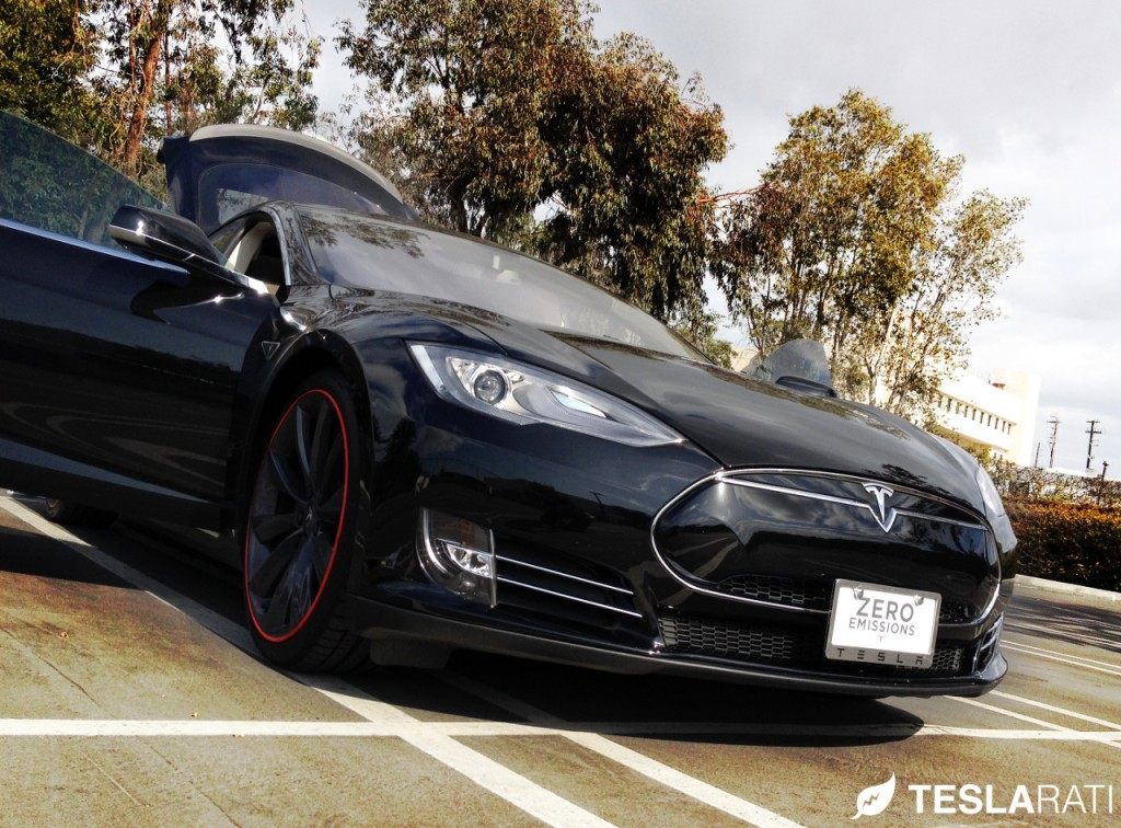 Torklift The Law Removable Tesla Model S Front License Mounted