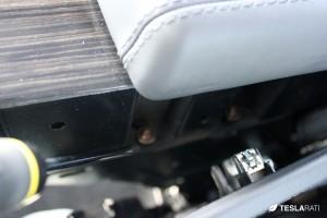 PARZ Premium Tesla Model S Rear Seat Cup Holders Side