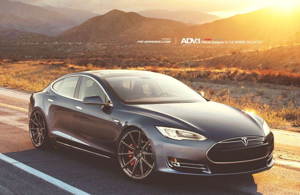 Tesla-Model-S-ADV52MV2-22inch-Wheels-Front