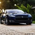 Tesla Model S Aftermarket Wheels Concavo 22 inch Front