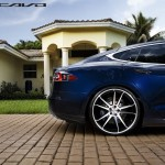 Tesla Model S Aftermarket Wheels Concavo 22 inch Rear