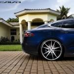 Tesla Model S Aftermarket Wheels Concavo 22 inch Rear