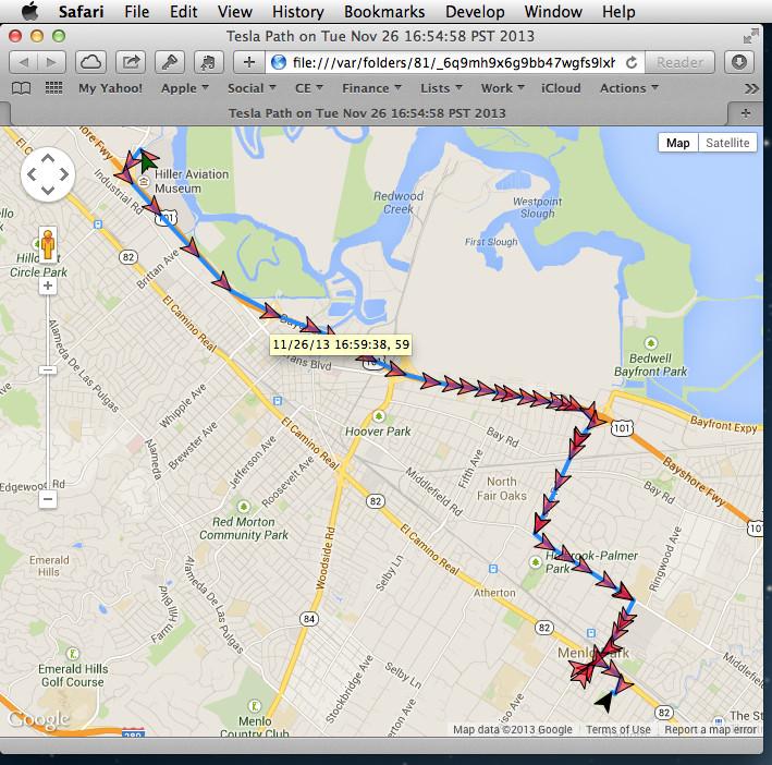 visibletesla-trips-map