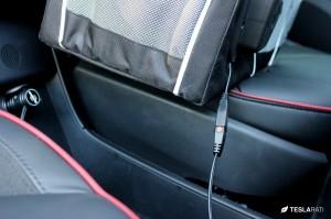 Tesla Model S Front Trunk Electric Cooler Organizer