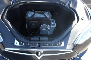 Tesla Model S Front Trunk Electric Cooler Organizer