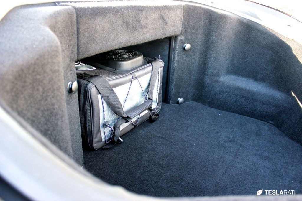 Tesla Model S Front Trunk Electric Cooler